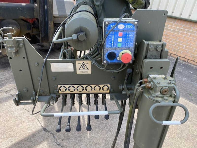 HMF 910 Hydraulic Crane | used military vehicles, MOD surplus for sale
