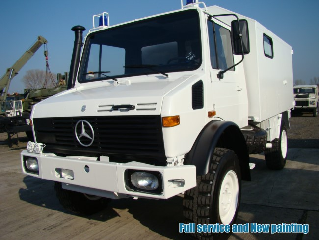specification mercedes unimog u1300l 4x4 cargo van lhd ex military for sale nato army. Black Bedroom Furniture Sets. Home Design Ideas