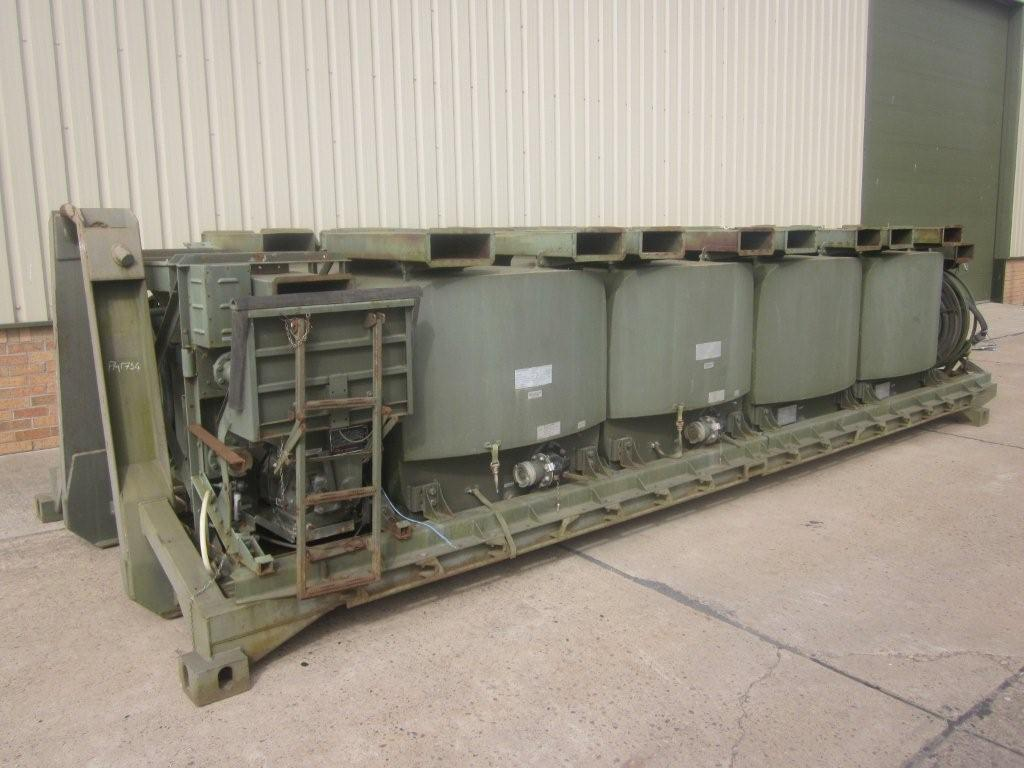 Drops flat racks pallet fitted with ubre fuel system | used military vehicles, MOD surplus for sale