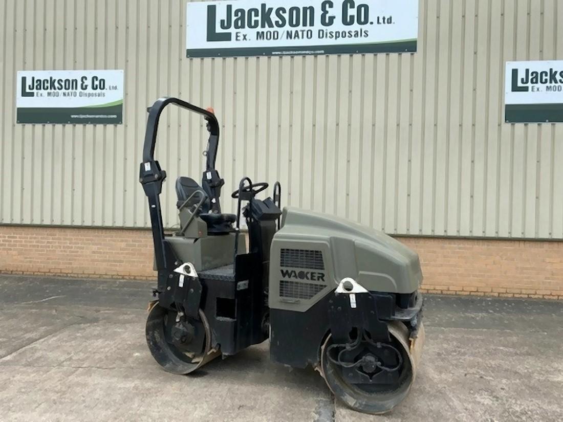 Wacker RD27-100 Roller | Конверсионная техника с военного хранения
