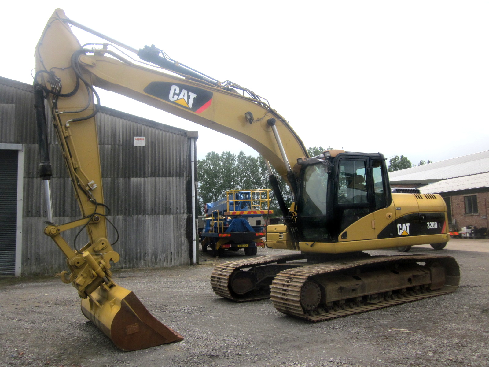 Caterpillar 320 Dl Tracked Excavator For Sale Mod Direct