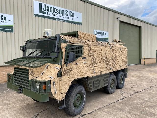 Pinzgauer Vector 718 6x6 Armoured Patrol Vehicle | Конверсионная техника с военного хранения