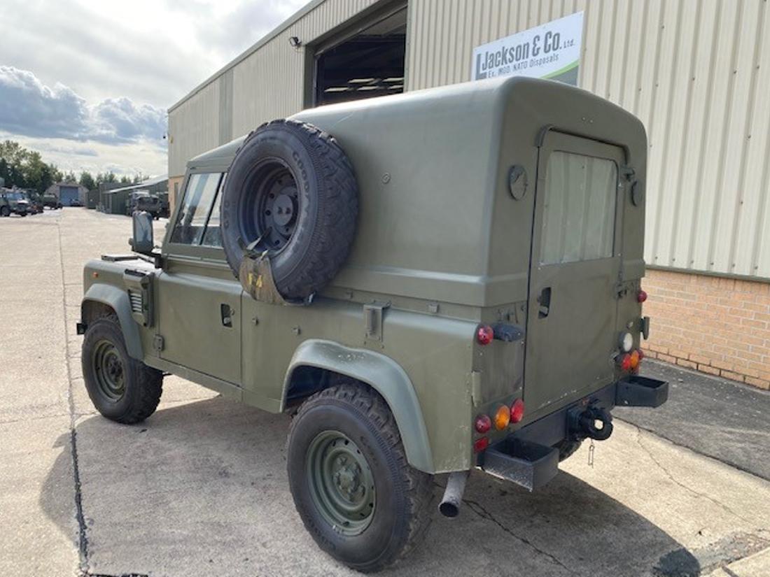Land Rover Defender 90 Wolf RHD Hard Top (Remus)   Конверсионная техника с военного хранения