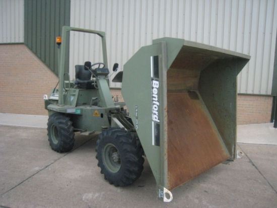 WAS SOLD Benford 3000 3 ton 4x4 Ex military dumper