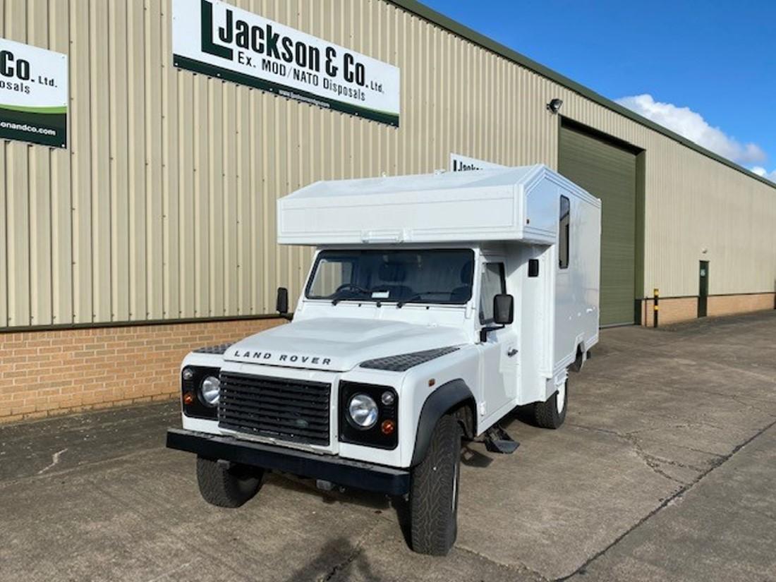 Unused Land Rover Defender 130 RHD Box Vehicle | Конверсионная техника с военного хранения