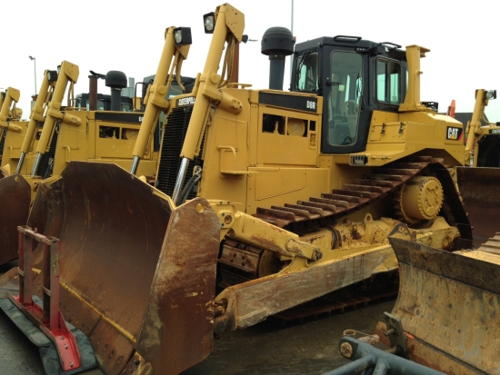 SOLD Caterpillar  D8R Track-Type Tractor | used military vehicles, MOD surplus for sale
