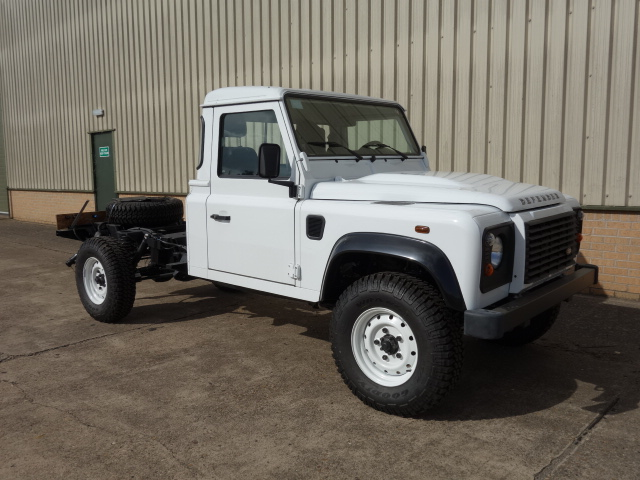 Land rover 130 LHD chassis cabs |  EX.MOD direct sales