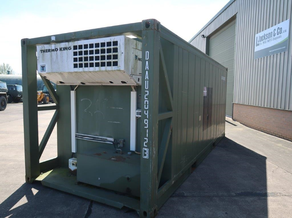 20ft Refrigerated/Freezer Container | used military vehicles, MOD surplus for sale