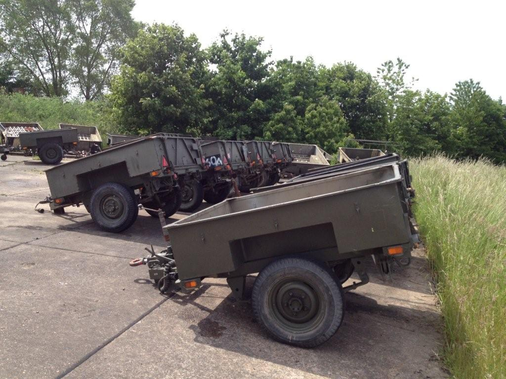 SOLD Sankey 1,000kg Single axle trailer | used military vehicles, MOD surplus for sale
