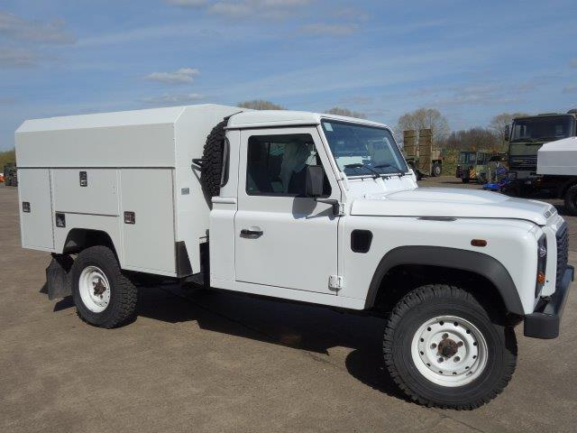 New Land Rover 130 LHD Maintenance vehicle | used military vehicles, MOD surplus for sale