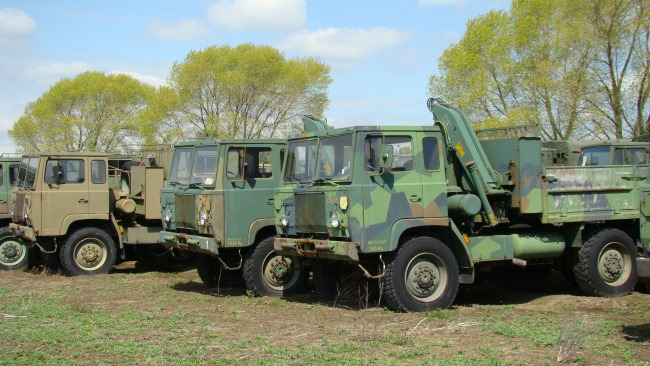 Scania SBAT 111SA 6x6 workshop | used military vehicles, MOD surplus for sale