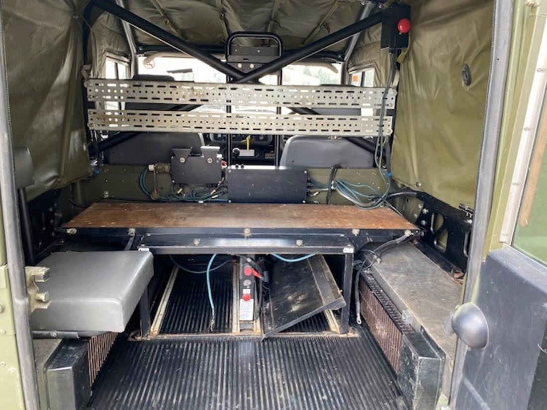 Land Rover Defender 90 Wolf RHD Hard Top Winterised/Waterproof (Remus) | Конверсионная техника с военного хранения