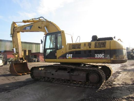 SOLD Caterpillar 330 CL tracked excavator | used military vehicles, MOD surplus for sale