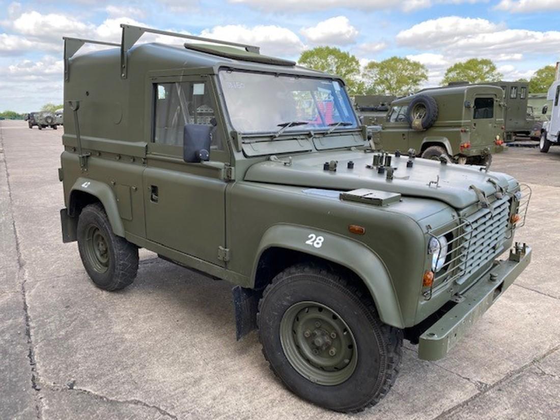 Land Rover Defender 90 Wolf RHD Hard Top Winterised/Waterproof (Remus) | used military vehicles, MOD surplus for sale