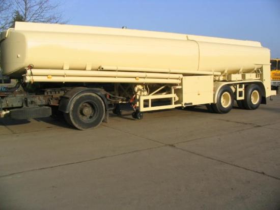 WAS SOLD Aurepa 24,000ltr Tanker trailers