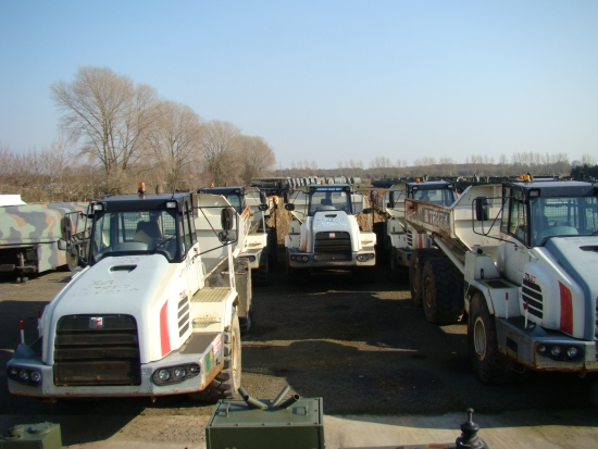 SOLD Terex TA 30 6x6 articulated dump trucks | used military vehicles, MOD surplus for sale