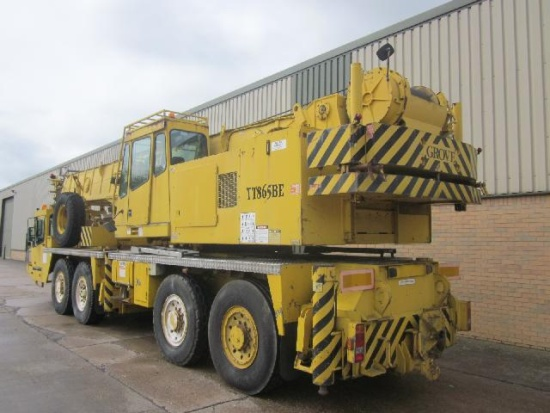Mobile Crane Axle Loads : Specification aircraft staging platform ex military for
