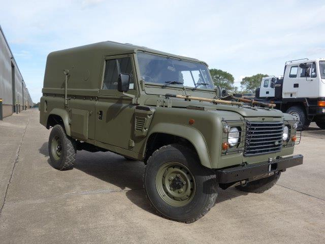 Land Rover Defender 110 Wolf RHD (Remus) | Military Land Rovers 90, 110,130, Range Rovers, Mercedes for Sale, MOD direct sales, Doncastere