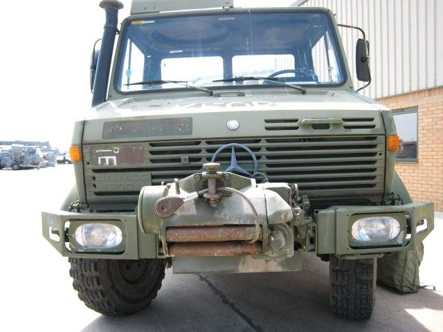 Mercedes unimog U1300L PTO winch truck 4x4 | used military vehicles, MOD surplus for sale