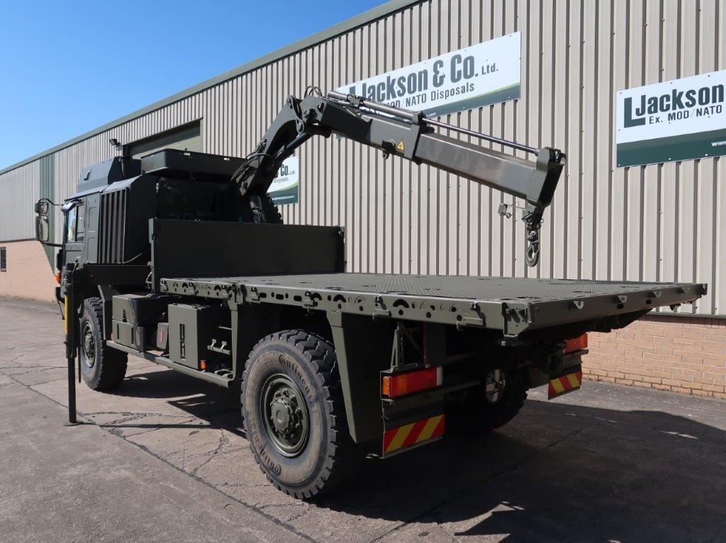 MAN 4x4 HX60 18.330 Crane Truck | used military vehicles, MOD surplus for sale