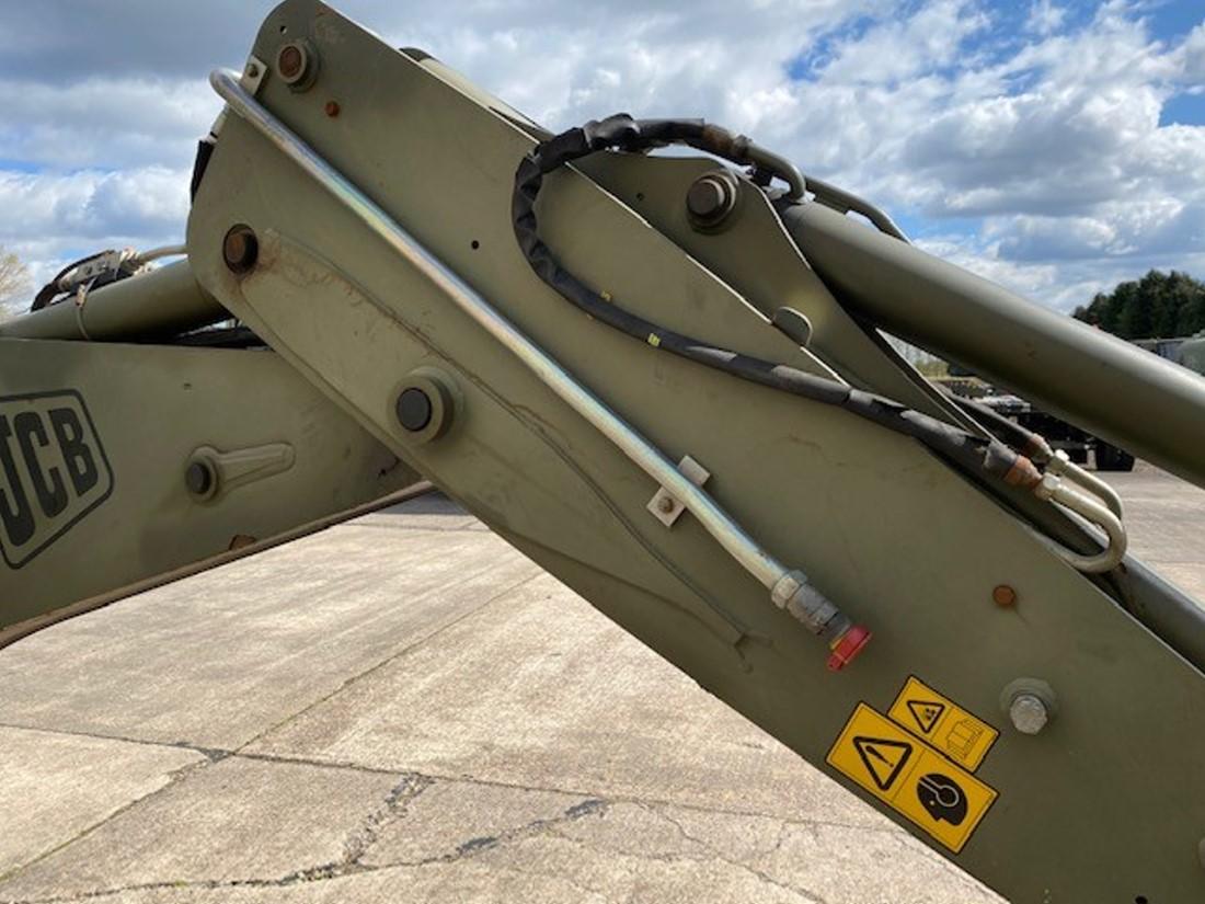 JCB 4CX Sitemaster Backhoe Loaders 50436   Конверсионная техника с военного хранения