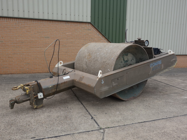 SOLD Bomag BW6 towed compactor roller | used military vehicles, MOD surplus for sale