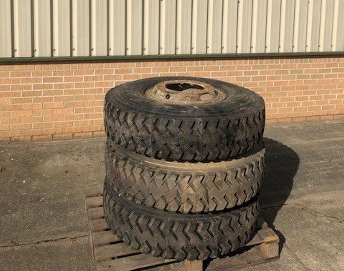 Michelin 12.00R20 XZB Spare Wheels | Military Land Rovers 90, 110,130, Range Rovers, Mercedes for Sale