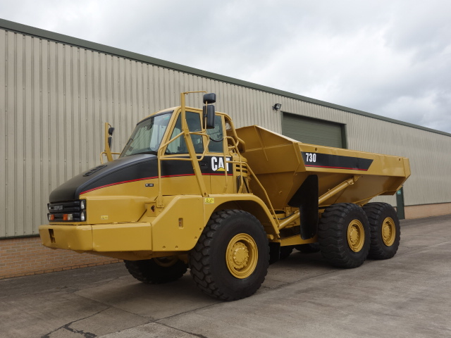 SOLD Caterpillar 730 6x6 articulated dump truck | used military vehicles, MOD surplus for sale