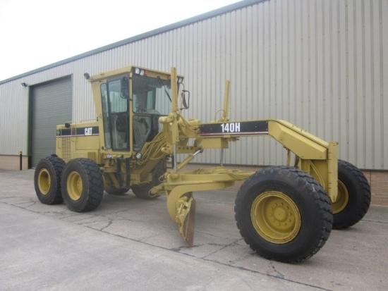 SOLD Caterpillar 140  H motor grader | used military vehicles, MOD surplus for sale