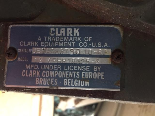 Reconditioned Clark Gearbox |  EX.MOD direct sales