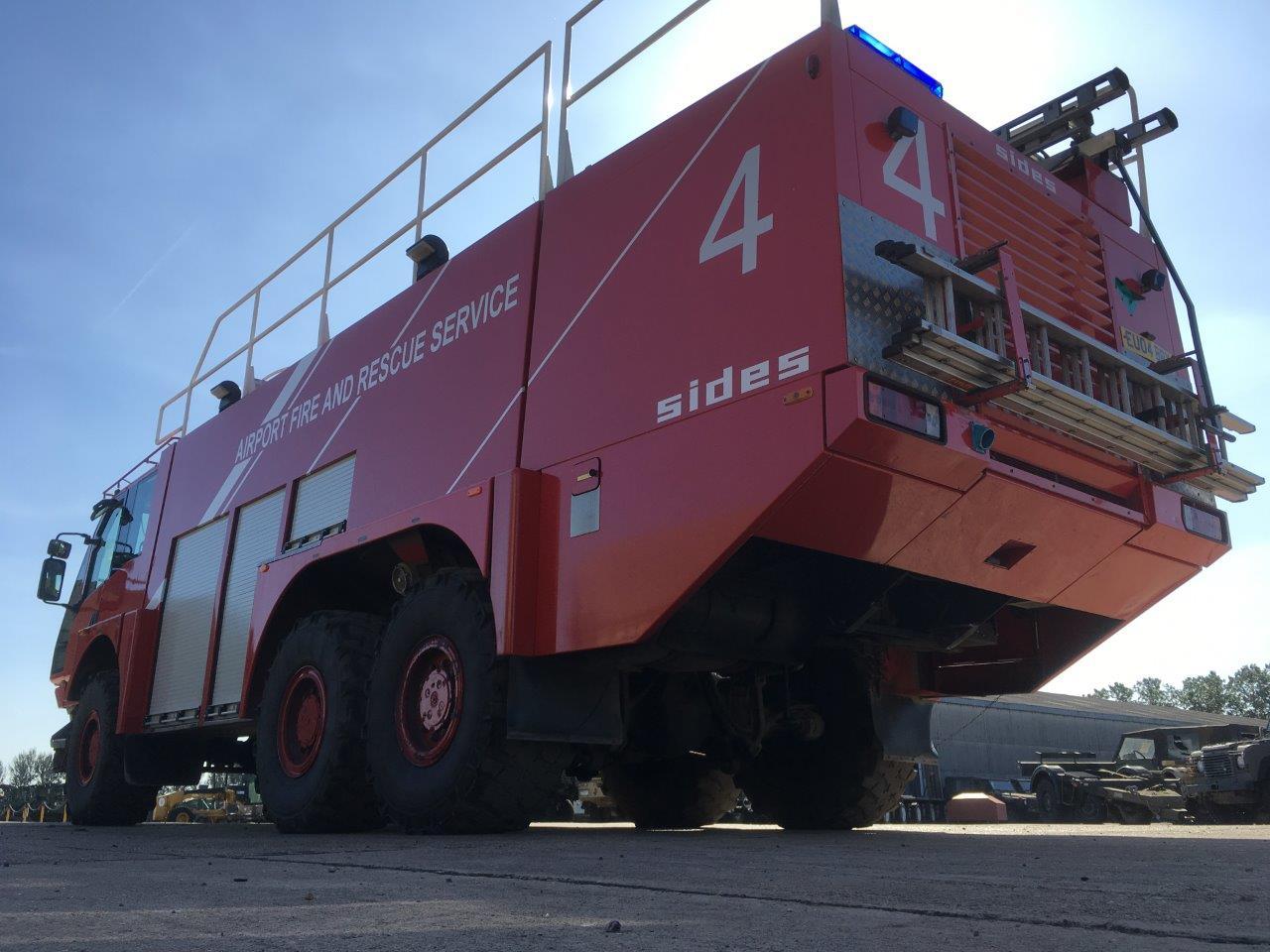 Sides VMA 112 6x6 Airport Crash Tender | Конверсионная техника с военного хранения