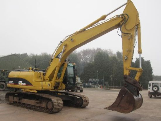 SOLD Caterpillar 322 CL Tracked Excavator | used military vehicles, MOD surplus for sale