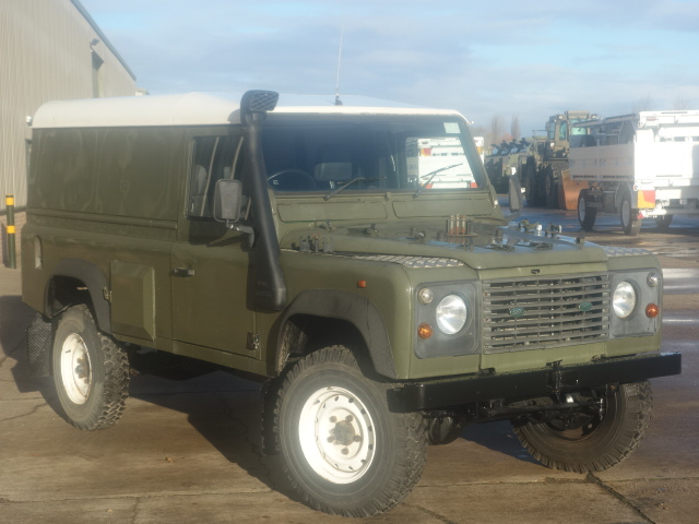 Land Rover Defender 110 300tdi | used military vehicles, MOD surplus for sale