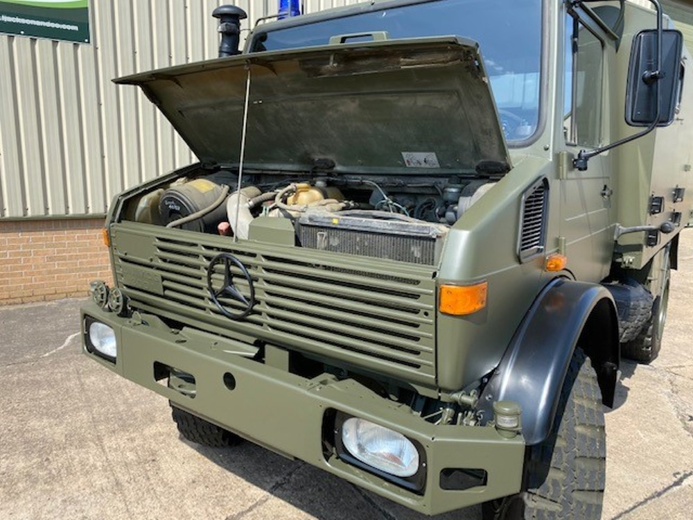 Mercedes Unimog U1300L Ambulance turbo