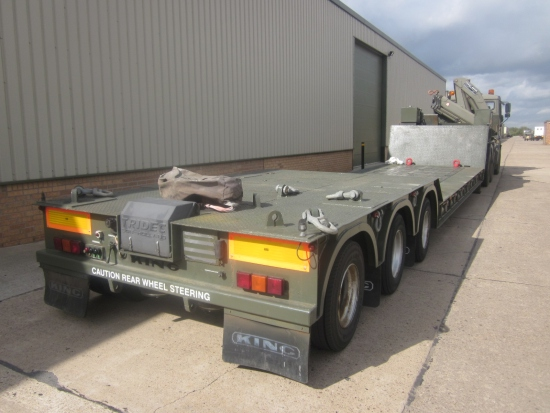 SOLD King GTLE 44 low  loader trailer | used military vehicles, MOD surplus for sale