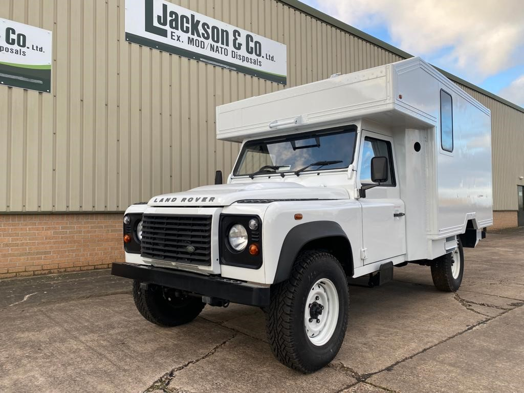 NEW (camper vans)  Land Rover 130 Defender  RHD | Military Land Rovers 90, 110,130, Range Rovers, Mercedes for Sale