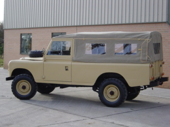 Land Rover Series III 109 -LHD LWB soft tops (diesel) | used military vehicles, MOD surplus for sale