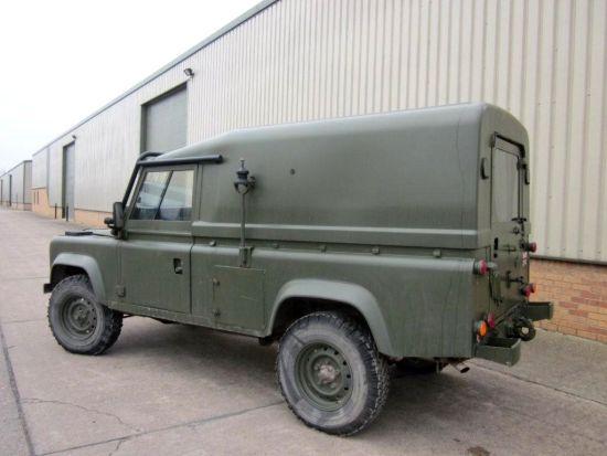 Land Rover RHD 110 tithonus hard top | used military vehicles, MOD surplus for sale