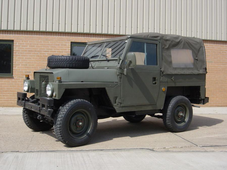 Land Rover  88 Lightweight серии III | Конверсионная техника с военного хранения