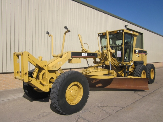 SOLD Caterpillar 120 H motor grader | used military vehicles, MOD surplus for sale