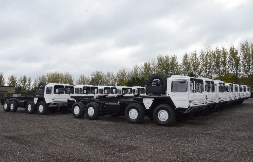 MAN CAT A1 Military  8x8 Tractor units |  EX.MOD direct sales