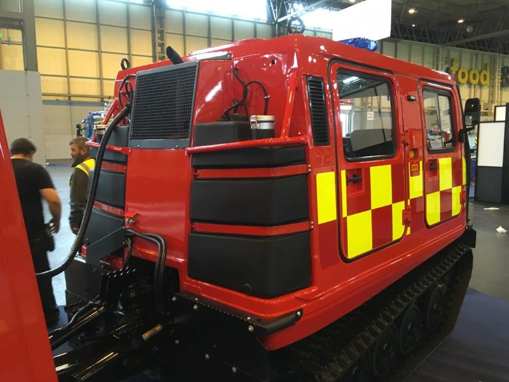 Used / Refurbished Hagglunds BV206 ATV Fire Engine (Fire Chief) |  for sale