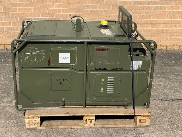 Lister Petter AirLog 5.6 KVA Diesel Generator | used military vehicles, MOD surplus for sale