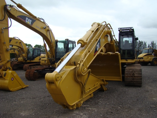 WAS SOLD Caterpillar 345CLME  tracked excavator