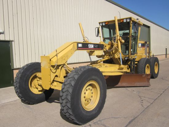 SOLD Caterpillar  135 H motor graider | used military vehicles, MOD surplus for sale