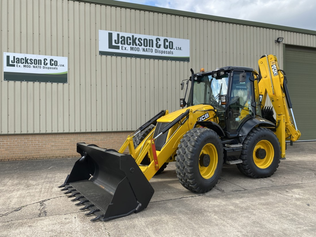 CB 4CX Sitemaster Backhoe Loader | Military Land Rovers 90, 110,130, Range Rovers, Mercedes for Sale