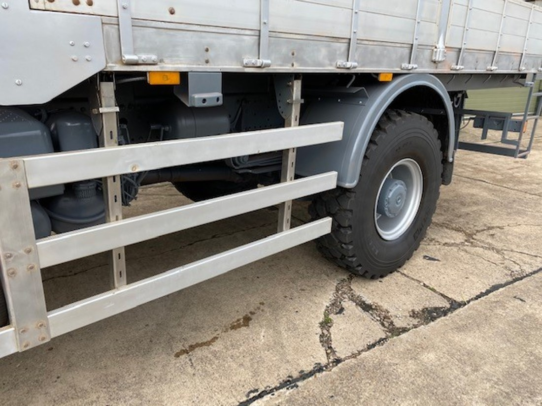 Mercedes Atego 1828 4x4 Crane Truck  military for sale