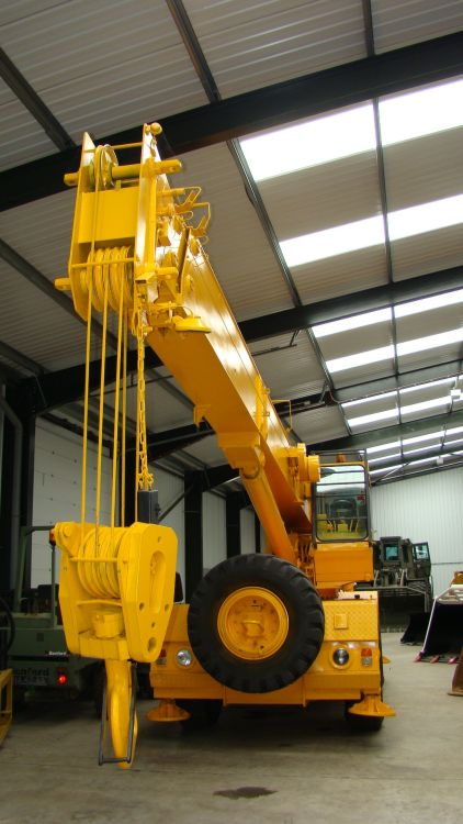 SOLD Coles 2628 rough terrain 4x4 crane | used military vehicles, MOD surplus for sale
