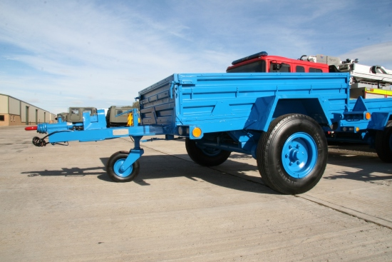 SOLD GKN 1,750 single axle cargo trailer | used military vehicles, MOD surplus for sale