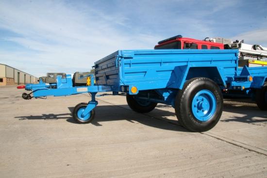 WAS SOLD GKN 1,750 single axle cargo trailer